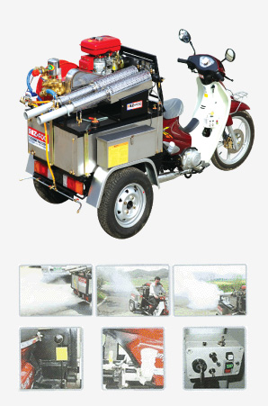 MOTOR CYCLE DISINFECTION SYSTEM IZ-1000W